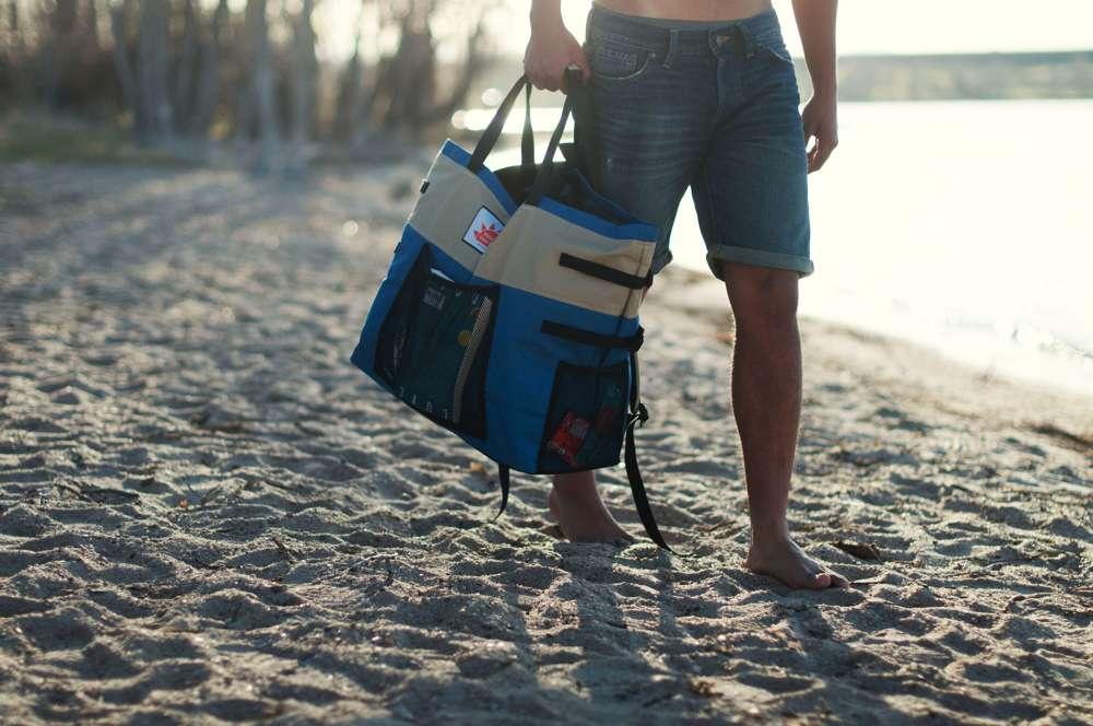 Make it a Great Day Original Backpack Beach Bag